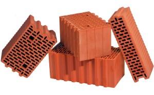 Стена из керамоблоков