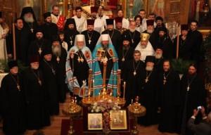 Sluzhenie Russkoi` Pravoslavnoi` TCerkvi pokazhut v Irkutske